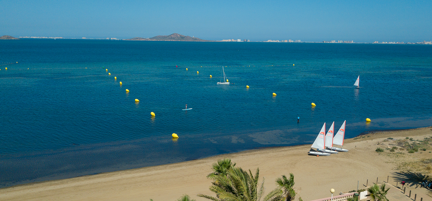 Dinghy Sailing Mar Menor Beachclub