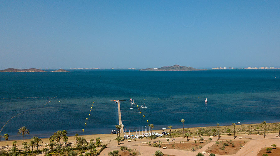 Mar Menor Beachclub sailing area