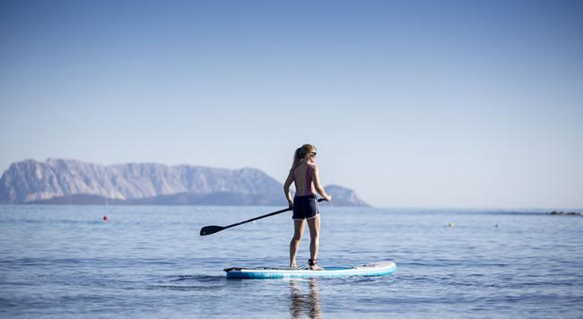 The physical benefits of SUP boarding