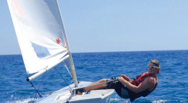 What is dinghy sailing?