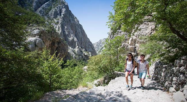 Paklenica's gorges