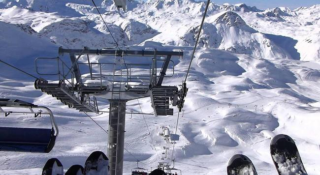 Leissieres Chair in Val d'Isère, France