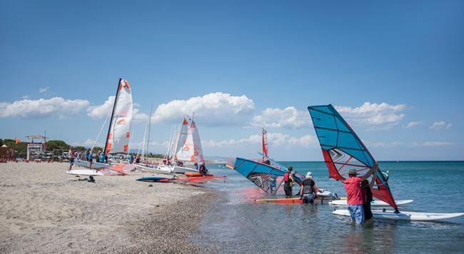 Italy's range of watersports