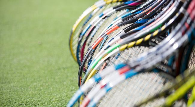 Make a racket: tennis rackets