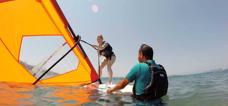 A beginner's guide to windsurfing | Neilson