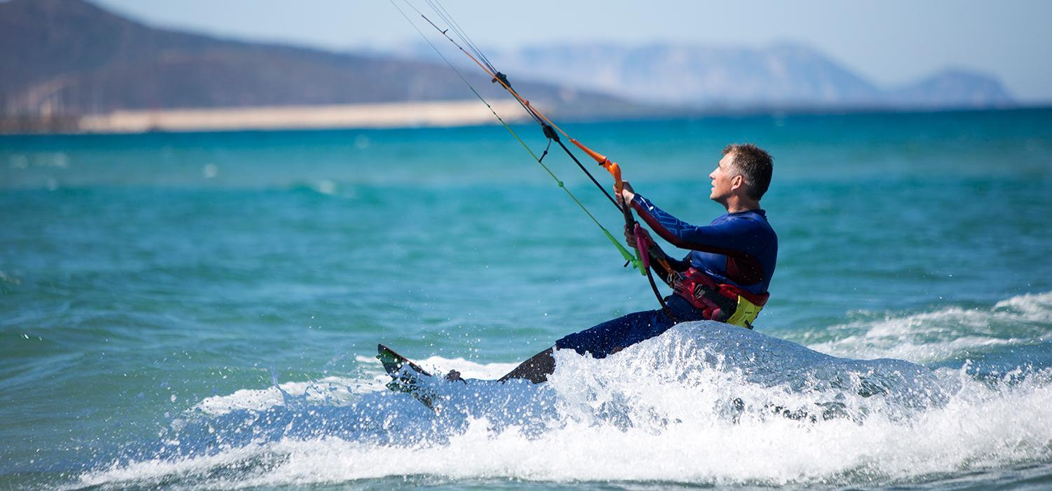 How to turn when kitesurfing