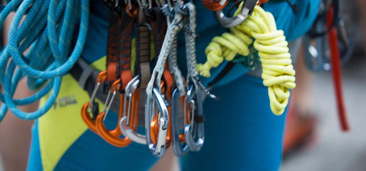 Carabiners and climbing protection