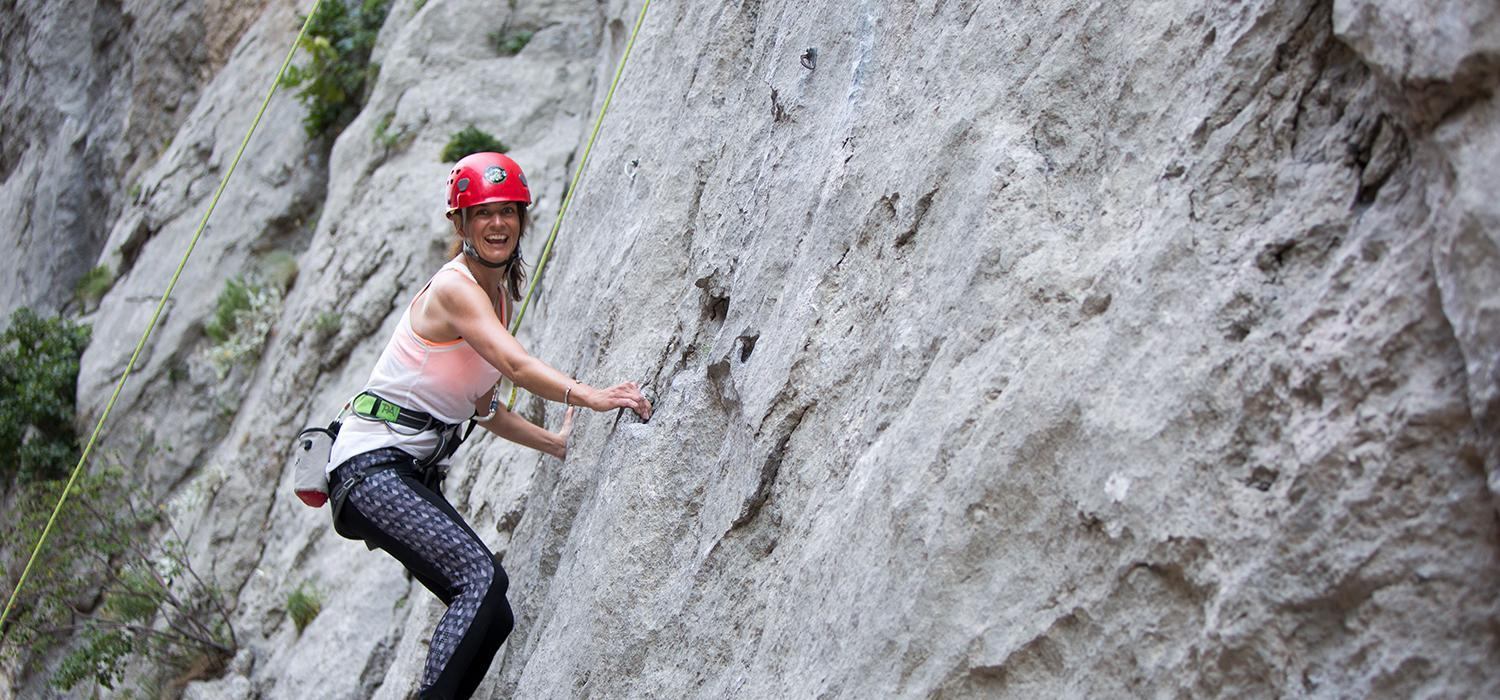 Is rock climbing good for you?