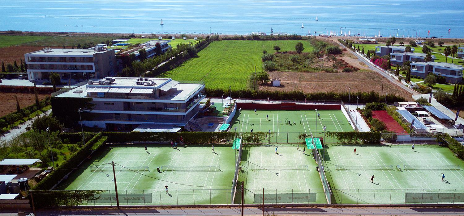 Tennis at Messini and Buca Beachclubs