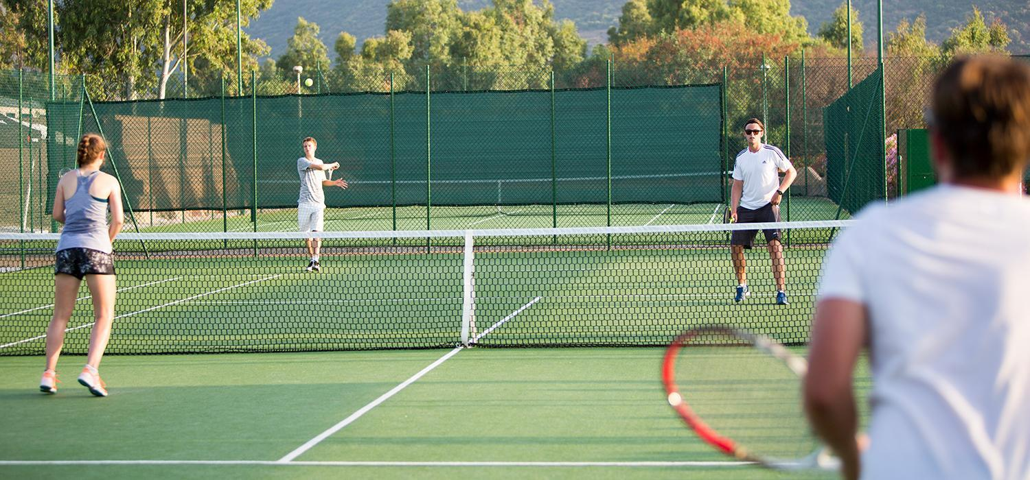 Tennis at Baia dei Mori Beachclub