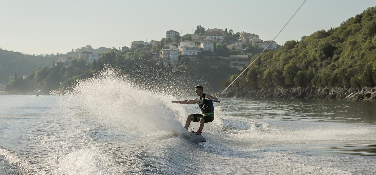 Wakeboarding at Retreat Beachclub