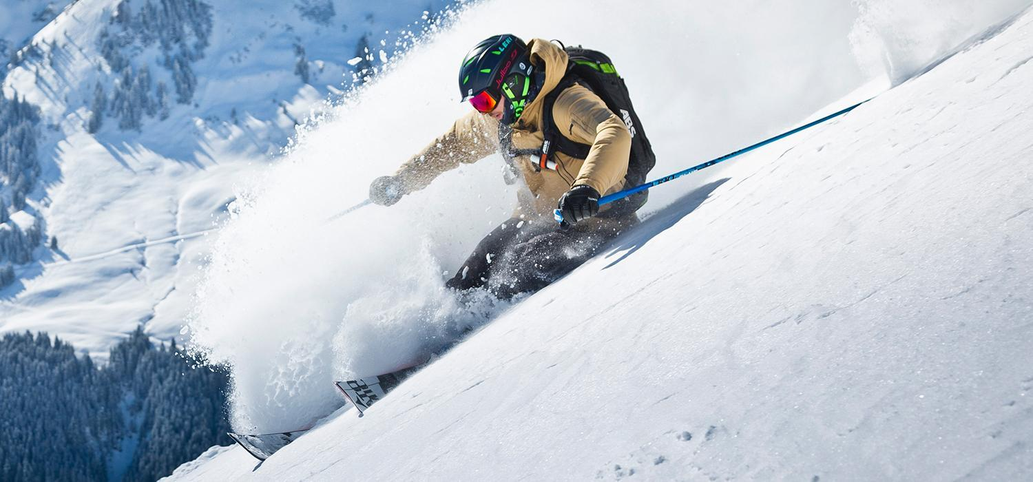 free ride in powder
