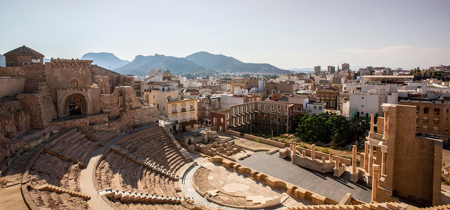 Roman amphitheatre at Cartagena