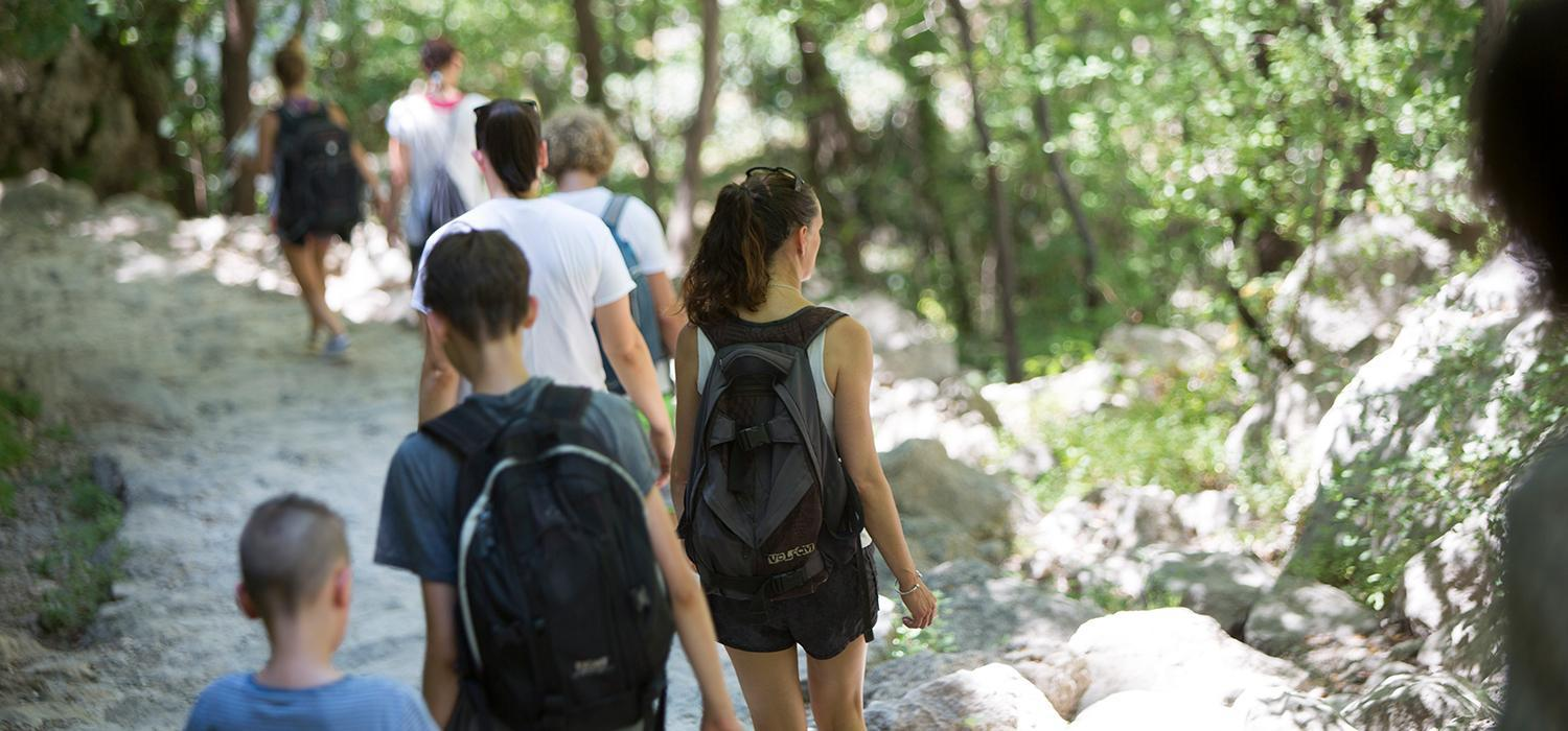 Hiking and walking in Paklenica National Park