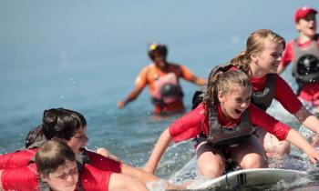 How watersports can help you and your teenagers find common ground (or perhaps water)!
