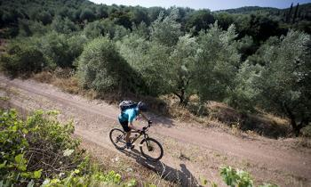 Cycling in Peloponnese, Greece