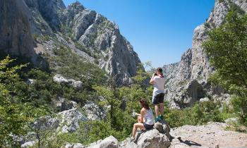 a glimpse into the Paklenica National Park