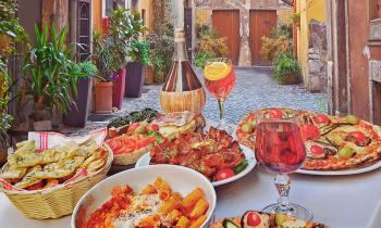 Famous food and drink of Italy