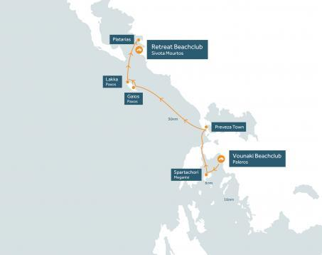 May delivery flotilla route map
