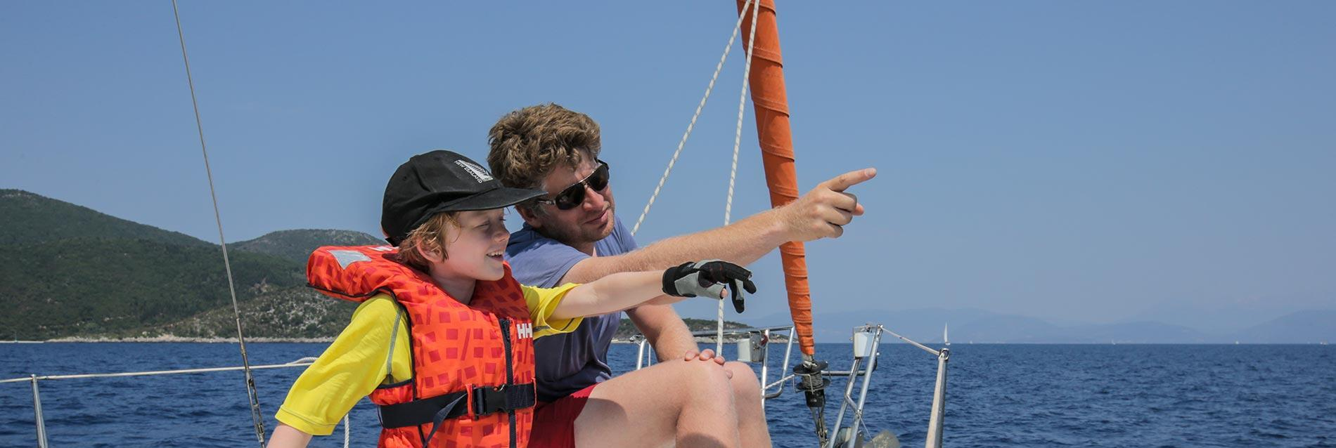 family sailing holidays