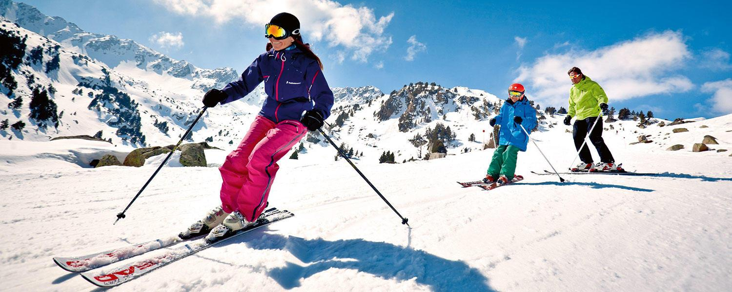 Cruising the slopes of Grandvalira