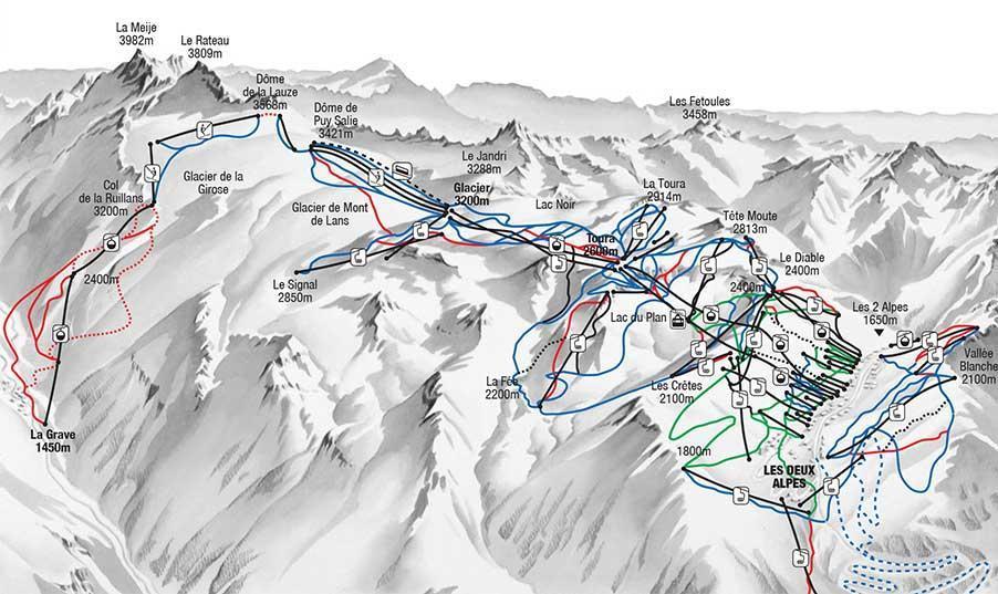 Les Deux Alpes Ski Holidays 2018 Neilson