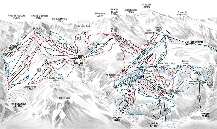 Soldeu El Tarter Andorra Ski Holidays And Resorts 2019
