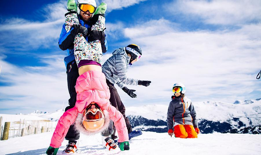 Family ski holidays in Andorra