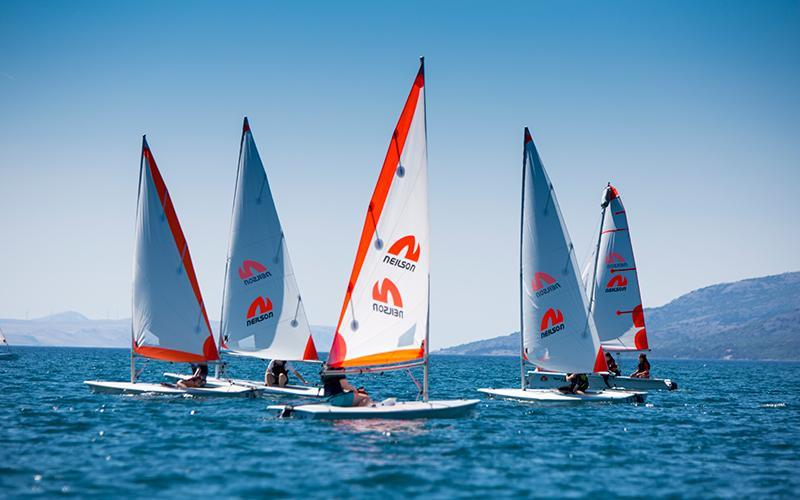 dinghy sailing in Croatia