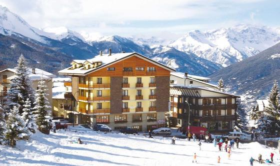 The slopeside Hotel Stella Alpina