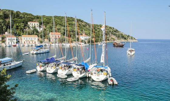 One week south Ionian flotilla