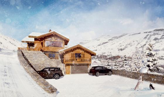 Artist's impression of Chalet Sandy
